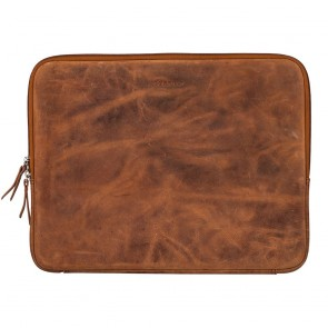 Burkely Stacey Star Laptop Sleeve Cognac 13 inch Voorkant