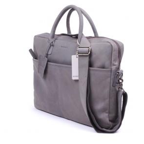 Burkely Filippa Workbag Grey 17.3 inch Voorkant