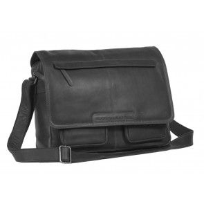 Chesterfield Dale Businessbag Black 15 inch Voorkant