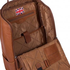 Chesterfield Rugtas Rich Cognac 15 inch Open