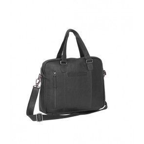 Chesterfield Maria Shoulderbag Black 15 inch Voorkant