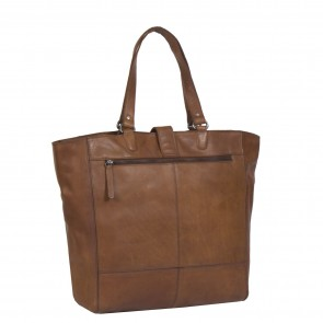 Chesterfield Oldham Shopper Cognac Achterkant