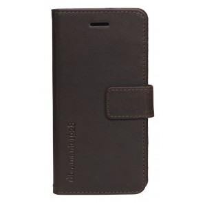 dbramante1928 Copenhagen Leather Wallet iPhone Hunter Dark Voorkant