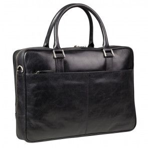 dbramante1928 Rosenborg Businessbag Black 14 inch Voorkant