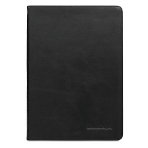 dbramante1928 Copenhagen 2 Leather Folio Case iPad Air 2 Black Voorkant
