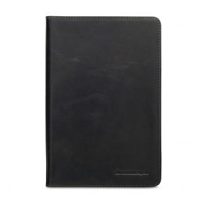 dbramante1928 Copenhagen 2 Leather Folio Case iPad Mini 4 Black Voorkant