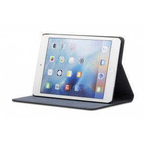 dbramante1928 Copenhagen 2 Leather Folio Case iPad Mini 4 Black Stand