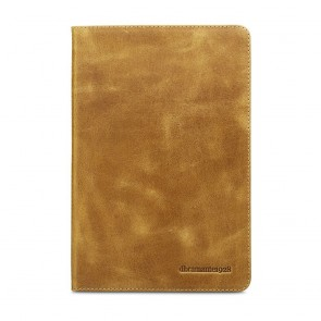 dbramante1928 Copenhagen 2 Leather Folio Case iPad Mini 4 Tan Voorkant