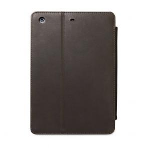 dbramante1928 Copenhagen 2 Leather Folio Case iPad Mini Hunter Dark achterkant