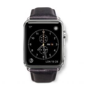 dbramante1928 Copenhagen Watch Strap 42mm Silver/Black voorkant