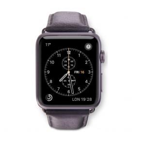 dbramante1928 Copenhagen Watch Strap 42mm Space Grey/Black voorkant