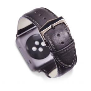 dbramante1928 Copenhagen Watch Strap 42mm Space Grey/Black omgekeerd
