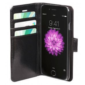 dbramante1928 Copenhagen Leather Wallet iPhone 6 Black Open