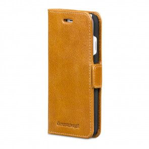 dbramante1928 Copenhagen Leather Wallet iPhone 8/7/6 Plus hoesje Tan Voorkant