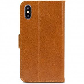 dbramante1928 Copenhagen Leather Wallet iPhone XR Tan Achterkant