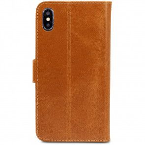 dbramante1928 Copenhagen Leather Wallet iPhone XS Max Tan Achterkant