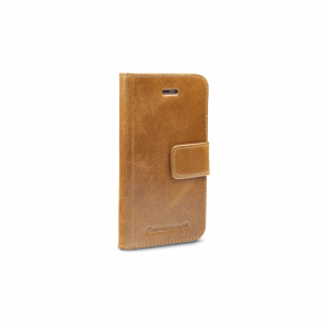 dbramante1928 Copenhagen Leather Wallet iPhone 5/5S/SE Tan Voorkant