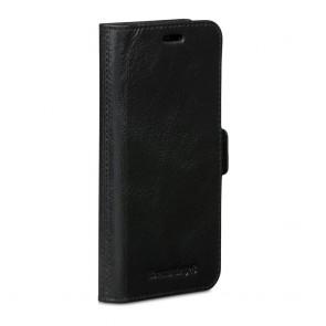 dbramante1928 Copenhagen Leather Wallet iPhone X Black Voorkant