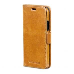 dbramante1928 Copenhagen Leather Wallet iPhone X Tan Voorkant