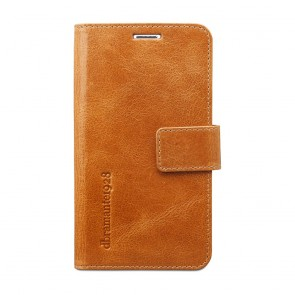 dbramante1928 Copenhagen Leather Wallet Samsung S5 Tan voorkant