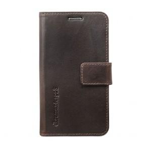 dbramante1928 Copenhagen Leather Wallet Samsung S5 Hunter Dark voorkant
