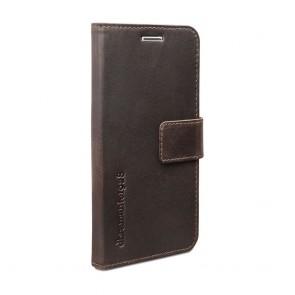 dbramante1928 Copenhagen Leather Wallet Samsung S5 Hunter Dark voorkant schuin links