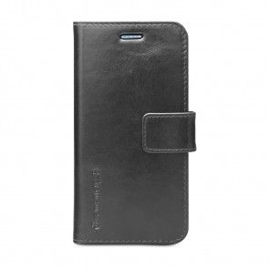 dbramante1928 Copenhagen Leather Wallet Samsung S6 Black voorkant