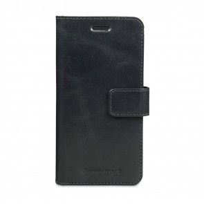 dbramante1928 Copenhagen Leather Wallet Samsung S7 Edge Black voorkant
