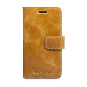 dbramante1928 Copenhagen Leather Wallet Samsung S7 Tan voorkant