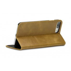 dbramante1928 Frederiksberg 3 Folio Case iPhone 7 Plus Tan Stand