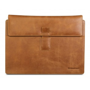 dbramante1928 Hellerup Leather Envelope Microsoft Surface 3/4 RT & Pro Tan Voorkant