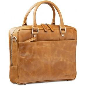 dbramante1928 Laptoptas 14 inch Rosenborg Golden Tan Voorkant