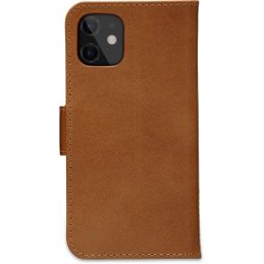 dbramante1928 Leren Wallet Hoesje iPhone 12 mini Copenhagen Tan Achterkant