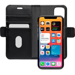 dbramante1928 Leren Wallet Hoesje iPhone 12 mini Lynge Zwart