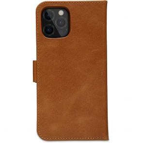 dbramante1928 Leren Wallet Hoesje iPhone 12 & 12 Pro Lynge Tan Achterkant