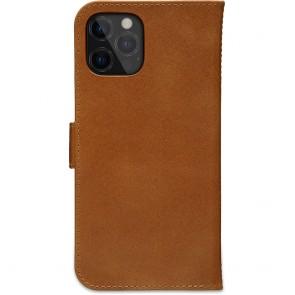 dbramante1928 Leren Wallet Hoesje iPhone 12 Pro Max Copenhagen Tan Achterkant