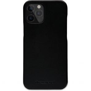 dbramante1928 Leren Wallet Hoesje iPhone 12 Pro Max Lynge Zwart Backcover