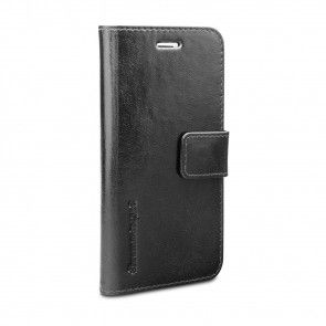 dbramante1928 Lynge 2 Leather Wallet iPhone 7 Black Voorkanty