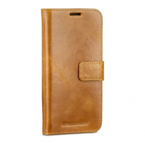 dbramante1928 Lynge 2 Leather Wallet Samsung S8+ Hoesje Tan Voorkant