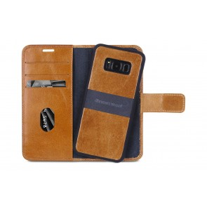 dbramante1928 Lynge 2 Leather Wallet Samsung S8 Hoesje Tan Open