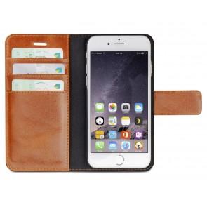 dbramante1928 Lynge Leather Wallet iPhone 6/6S Tan open