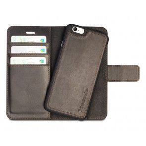 dbramante1928 Lynge Leather Wallet iPhone 6/6S Hunter Dark met losse cradle/backcover
