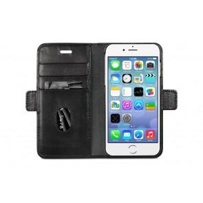 dbramante1928 Lynge Leather Wallet iPhone 8/76 Series Zwart Open