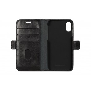 dbramante1928 Lynge Leather Wallet iPhone X Black Open