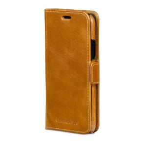 dbramante1928 Lynge Leather Wallet iPhone X / XS Tan Voorkant