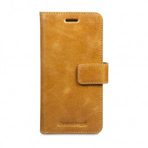 dbramante1928 Lynge Leather Wallet Samsung S7 Edge Tan voorkant