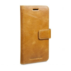 dbramante1928 Lynge Leather Wallet Samsung S7 Edge Tan voorkant schuin links