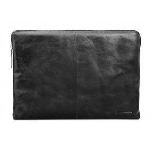dbramante1928 Skagen Leather Sleeve MacBook 12 inch Black voorkant