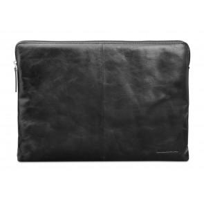 dbramante1928 Skagen Leather Sleeve MacBook 12 inch Black voorkant
