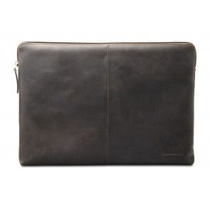 dbramante1928 Skagen Leather Sleeve 14 inch Donker Bruin voorkant